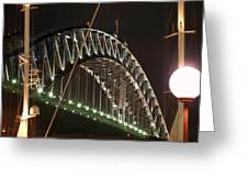 Harbor Bridge Greeting Card