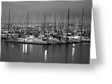 Harbor Lights II Greeting Card
