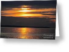 Harbor Night Greeting Card