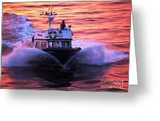 Harbor Pilot Greeting Card