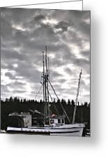 Harbor Reflection Greeting Card