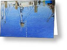 Harbor Reflections Greeting Card