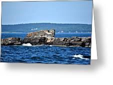 Harbor Rocks Greeting Card