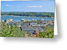 Harbor Springs Michigan Greeting Card by Bill Gallagher