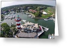 Harbor Town 1 In Hilton Head Greeting Card