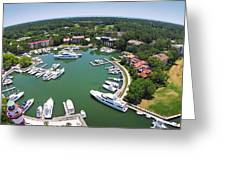 Harbor Town 6 In Hilton Head Greeting Card