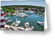 Harbor Town 7 In Hilton Head Greeting Card