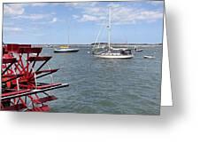 Harbor View Greeting Card