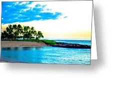 Harbor View Ko Olina  Greeting Card