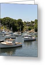 Harbor Views Greeting Card