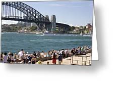 Harbour Bridge Greeting Card