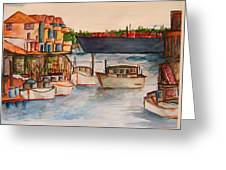 Harbour Greeting Card