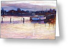 Harbour Lights - Apollo Bay Greeting Card