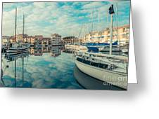 Harbour Of Grado Greeting Card