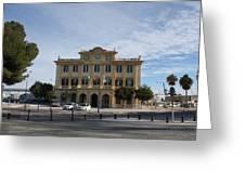Harbour Quarter Malaga Greeting Card