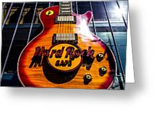 Hard Rock Greeting Card