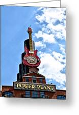 Hard Rock Cafe - Baltimore Greeting Card