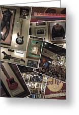 Hard Rock Cafe Hollywood Florida Greeting Card