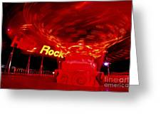 Hard Rock Hard Ride Greeting Card