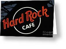 Hard Rock - St. Louis Greeting Card