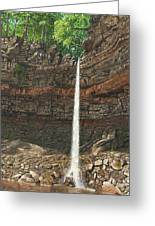 Hardraw Force Yorkshire Greeting Card
