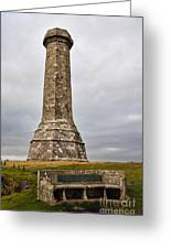 Hardy Monument Greeting Card
