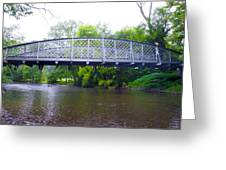 Hares Hill Road Bridge Greeting Card