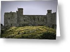 Harlech Castle Greeting Card
