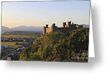 Harlech Castle Wales Greeting Card