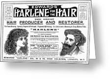 Harlene For The Hair, 1897 Greeting Card