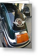 Harley Close-up Tail Light Greeting Card