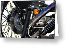 Harley Cycle Greeting Card