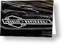 Harley Davidson 1 Greeting Card