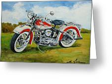 Harley Davidson 1943 Greeting Card