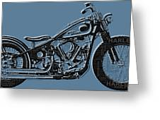 Harley-davidson And Words Greeting Card
