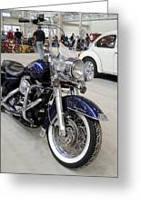 Harley Davidson Detail Greeting Card