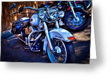 Harley Davidson - Heritage Softail Greeting Card