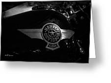 Harley Davidson Usa Greeting Card