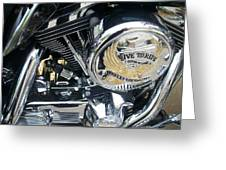 Harley Live To Ride Greeting Card