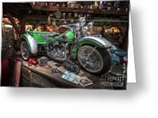 Harley Trike Greeting Card