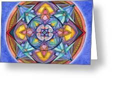 Harmony Mandala Greeting Card