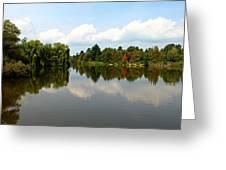 Harmony On The Boyne River Greeting Card