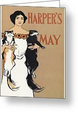 Harper's, 1897 Greeting Card