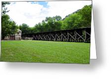 Harpers Ferry Hardware And Railroad Greeting Card