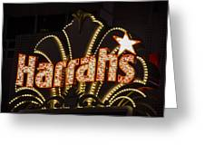 Harrahs - Las Vegas Greeting Card