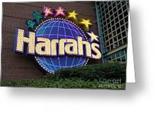 Harrahs Of New Orleans Greeting Card
