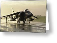 Harrier Gr7 Greeting Card