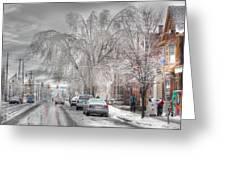 Harrisburg On Ice Greeting Card