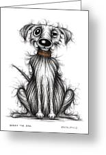 Harry The Dog Greeting Card