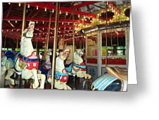 Hartford Carousel Greeting Card